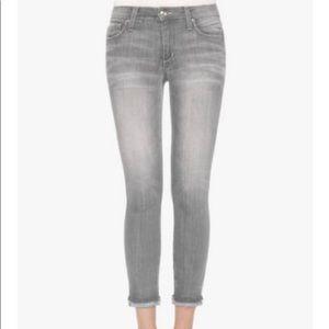 Joes Gray Markie Crop Skinny Jeans